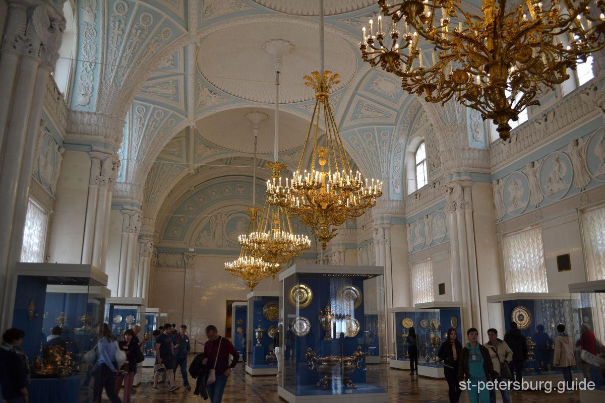 Alexander's hall Hermitage Museum