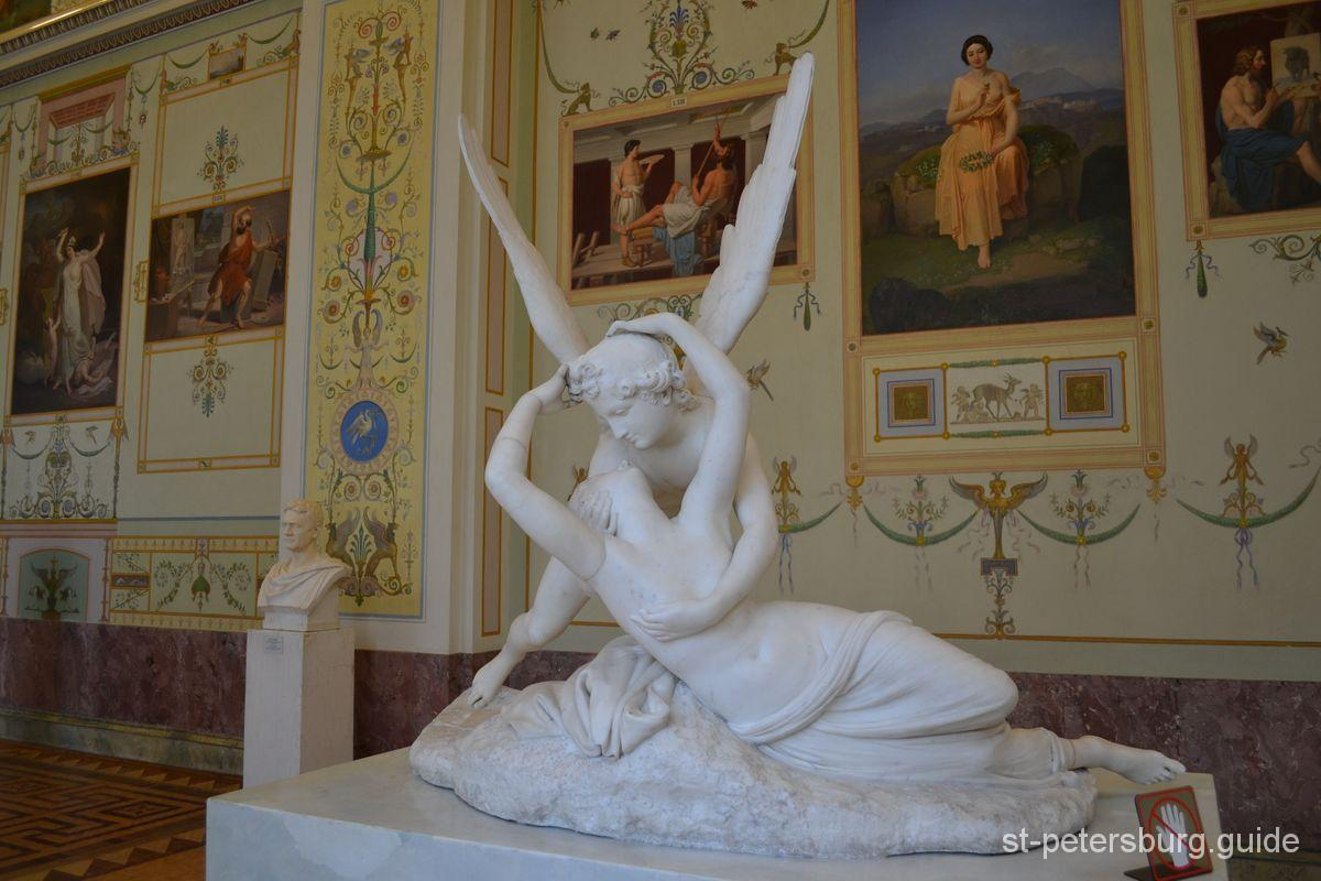 Hermitage Museum Cupid and Psyche Antonio Canova