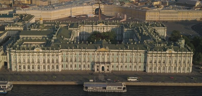 The Winter Palace top view