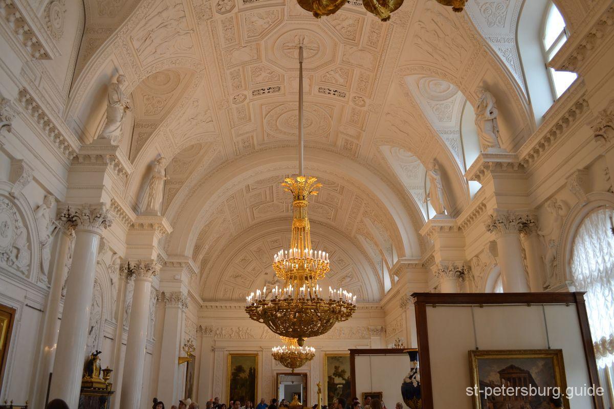White hall Hermitage Museum