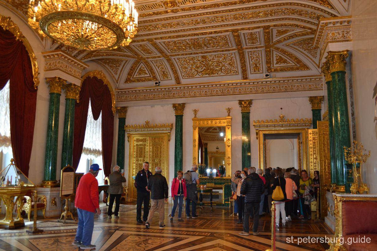 malachite living room The Winter Palace