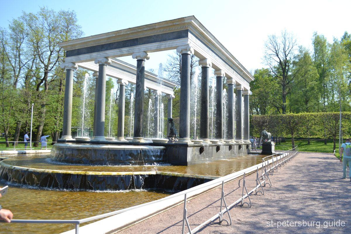 Lions' Cascade in Peterhof