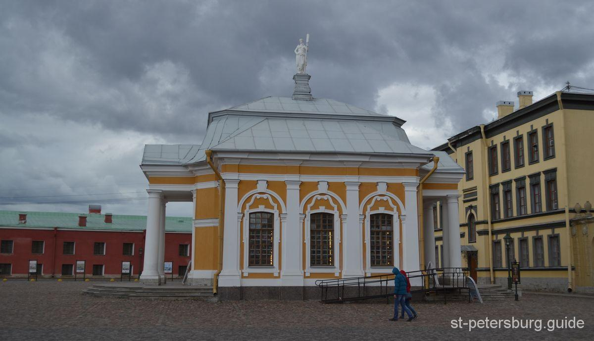 Peter and Paul fortress Boat house
