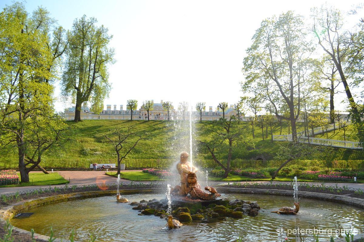 Peterhof Triton Fountain