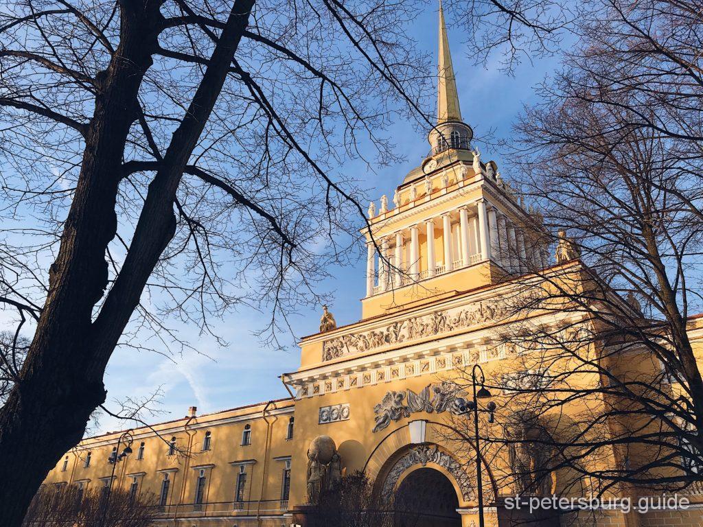 St Petersburg tour Admiralty Building