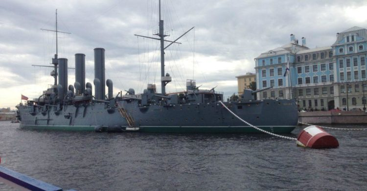 Avrora Battle Ship on St Petersburg city tour