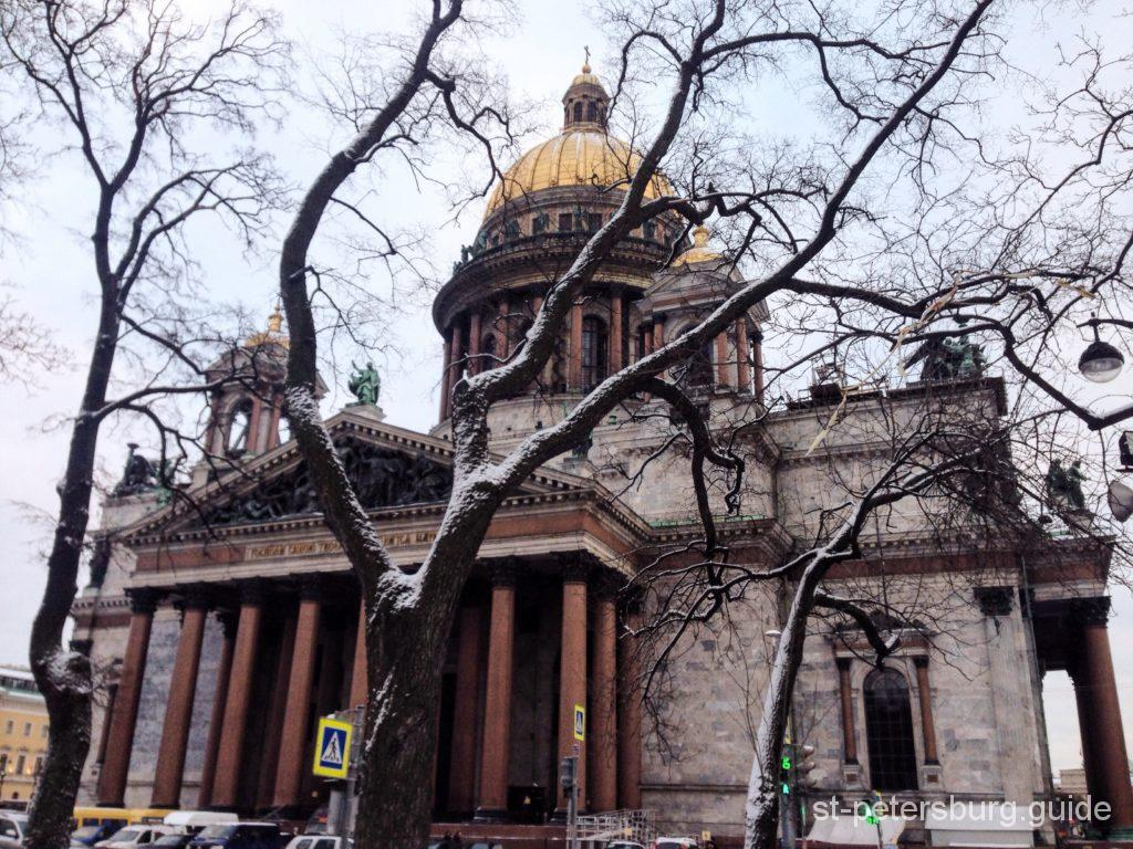 St Isaac's Cathedral St Petersburg sightseeing