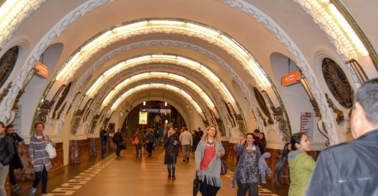 Subway Vosstaniya Square