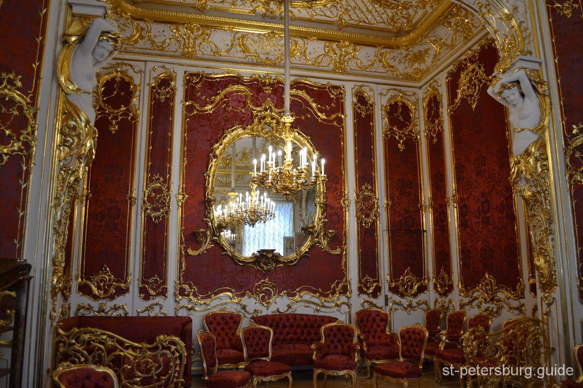 Boudoir of Maria Alexandrovna in the Hermitage