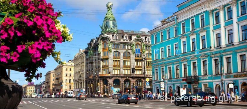 Saint-Petersburg Nevsky Prospekt