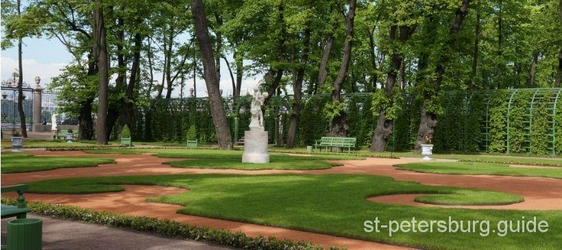 Saint-Petersburg Summer garden