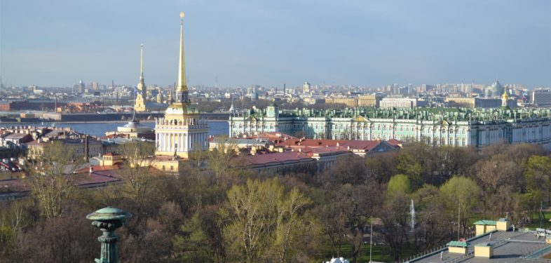 St Petersburg city center