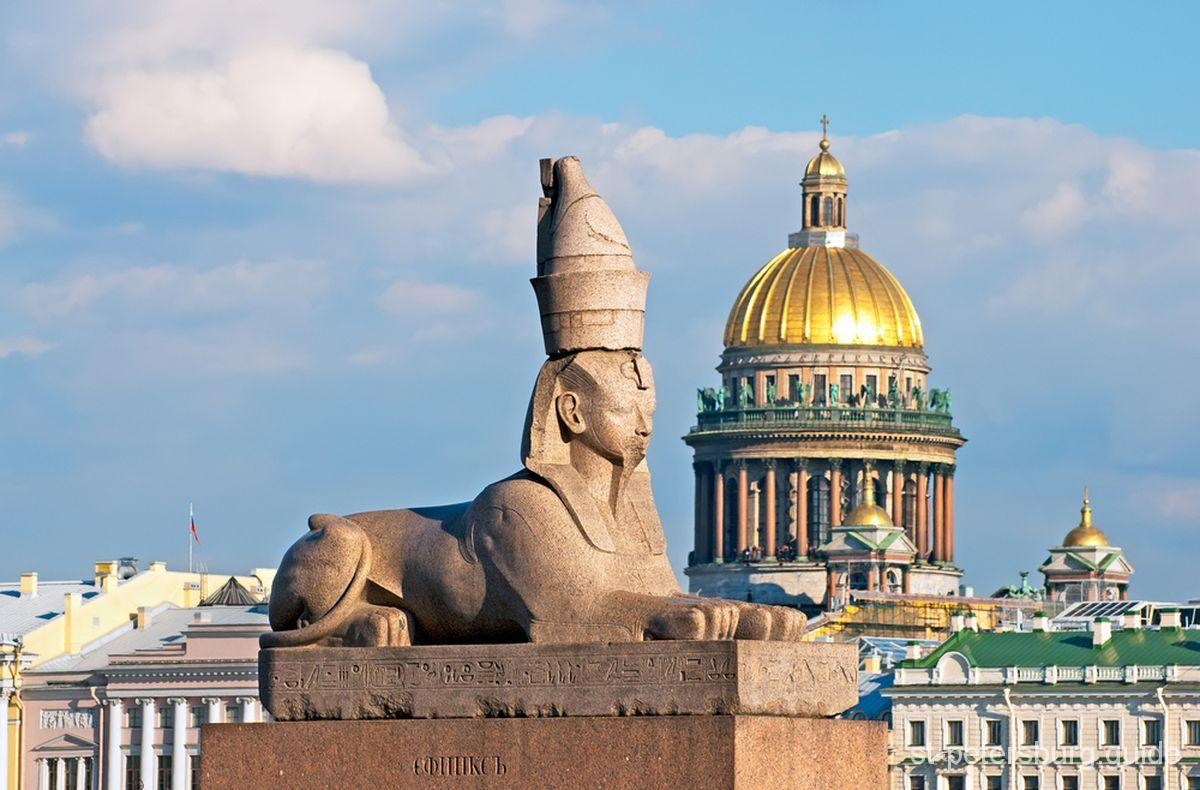 St Petersburg sphinx