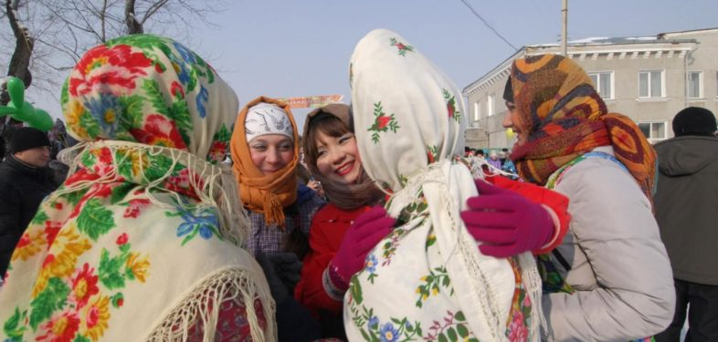 traditional Russian Dresses
