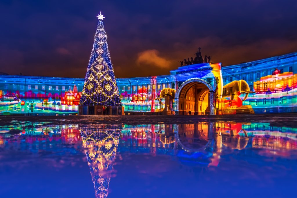 Palace Square New Year 2019