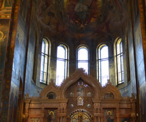 THE SPILLED BLOOD CHURCH inside