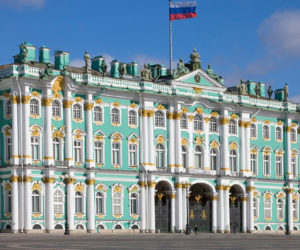 hermitage flag of russia