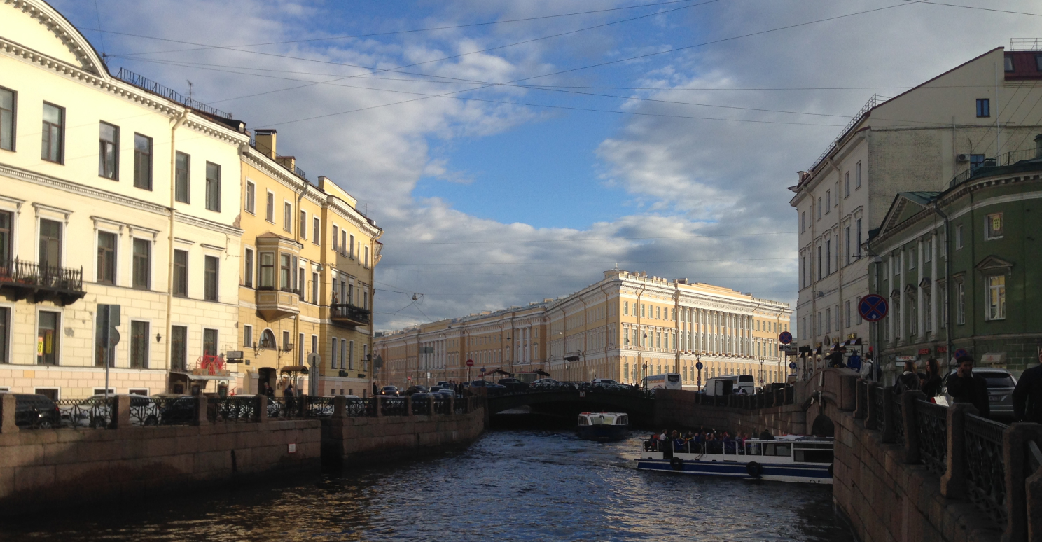 channel in St Petersburg day private tour
