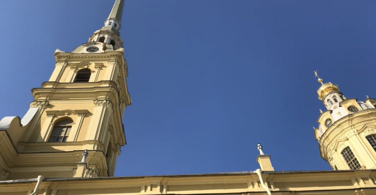 roof of Peter and Paul Cathedral
