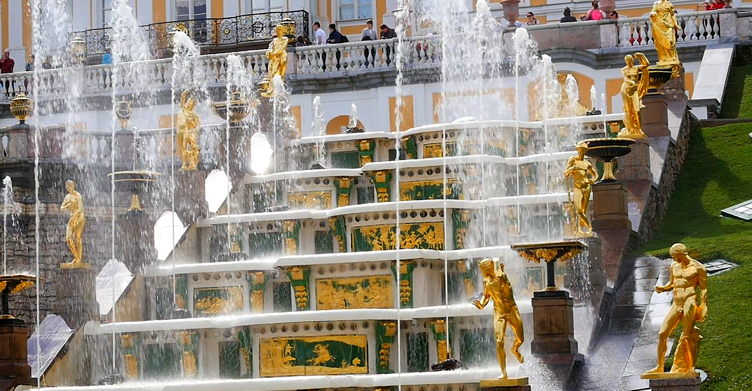Peterhof fountains park for the two day st petersburg tour