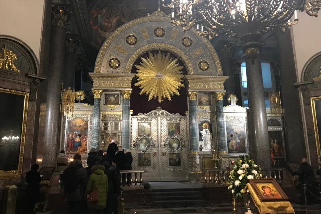 Kazan Cathedral altar