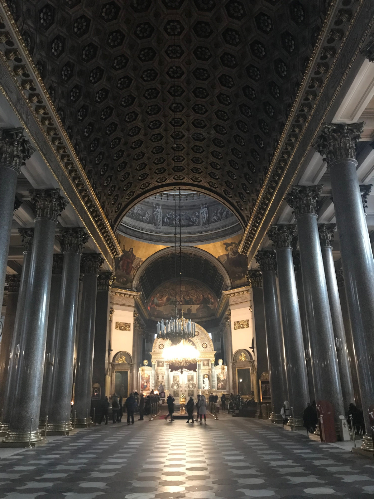 Kazan Cathedral inside