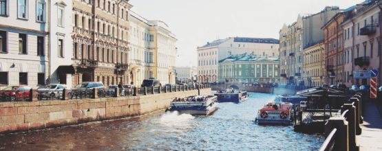 Rivers and canals of St. Petersburg