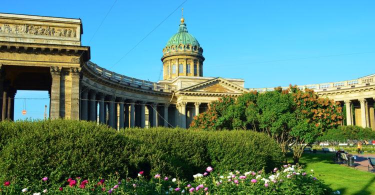 Kazan cathedral spring
