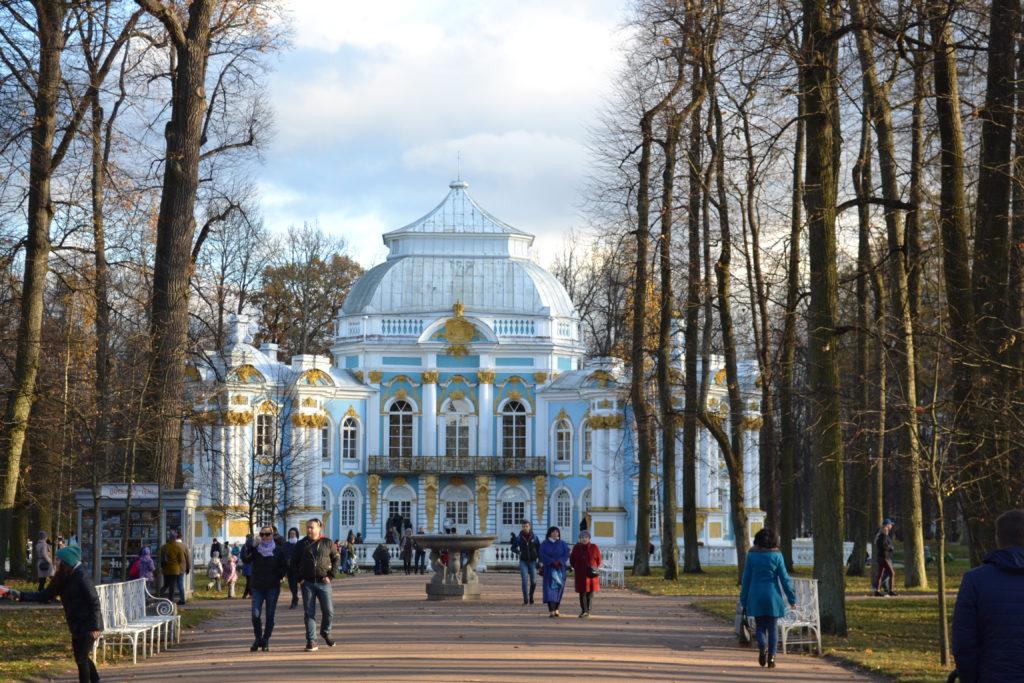 Tsarskoe Selo (Puskin) in St Petersburg