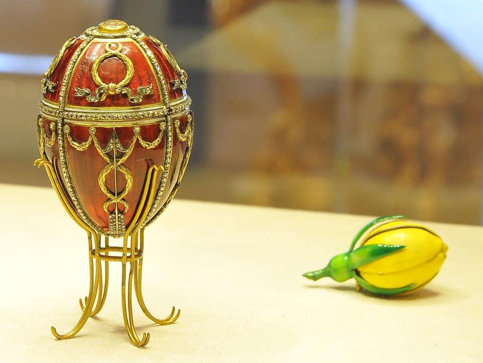 Rosebud Easter Egg - Faberge Museum