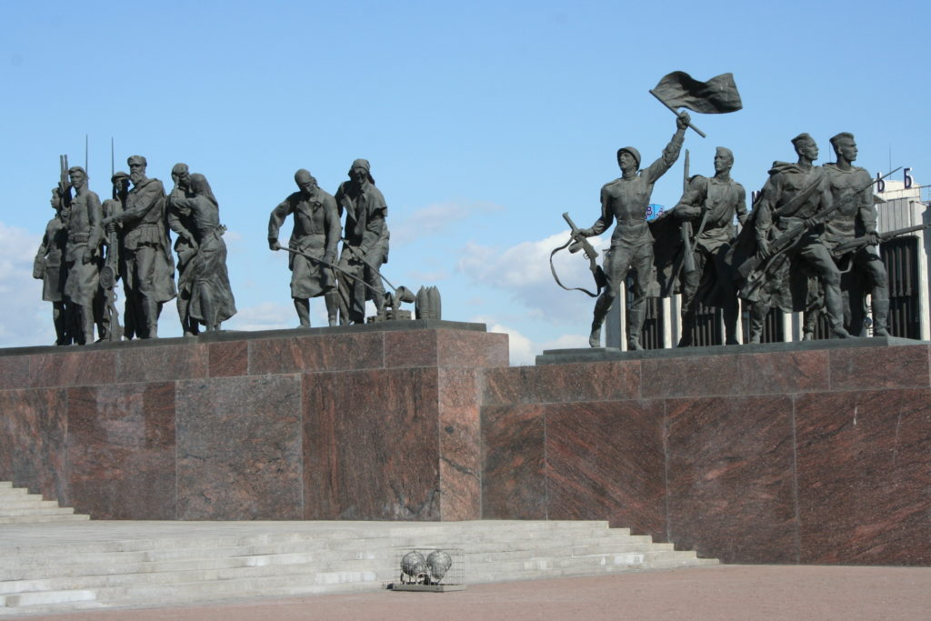 Soldiers, pilots and citizens of Leningrad