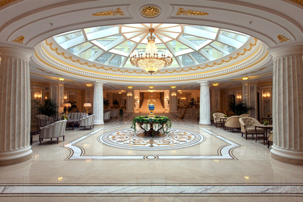 Hermitage Hotel in St Petersburg