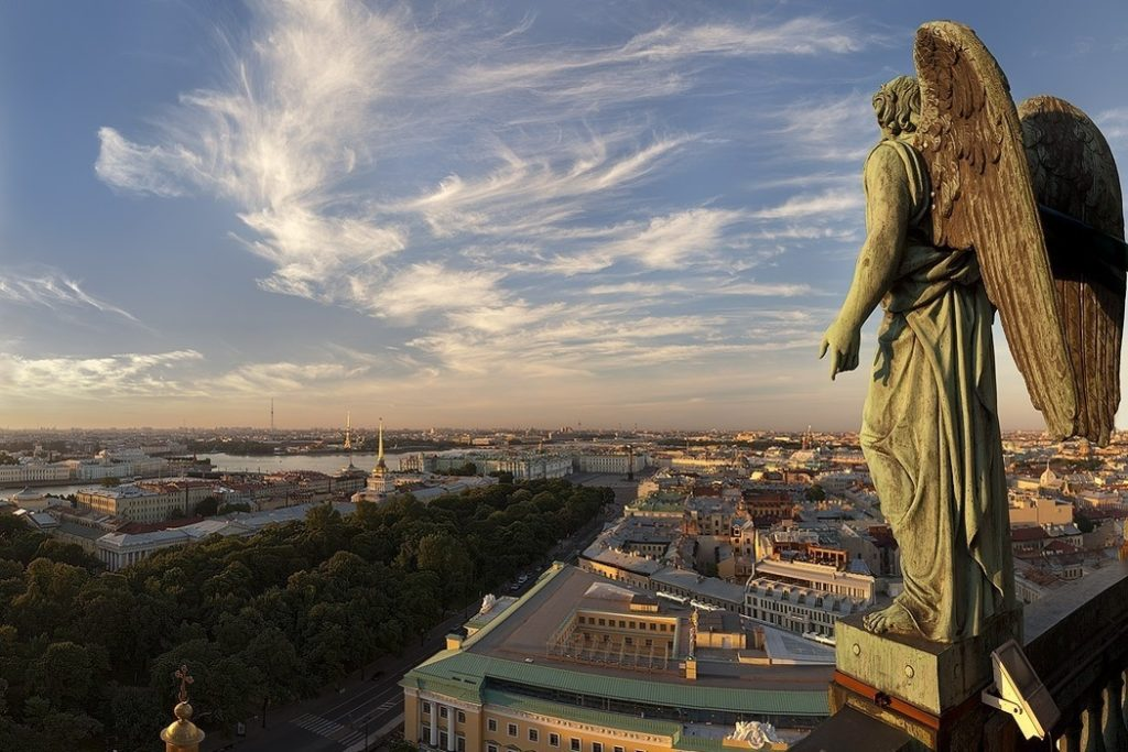 Panorama View from Isaac Cathedral