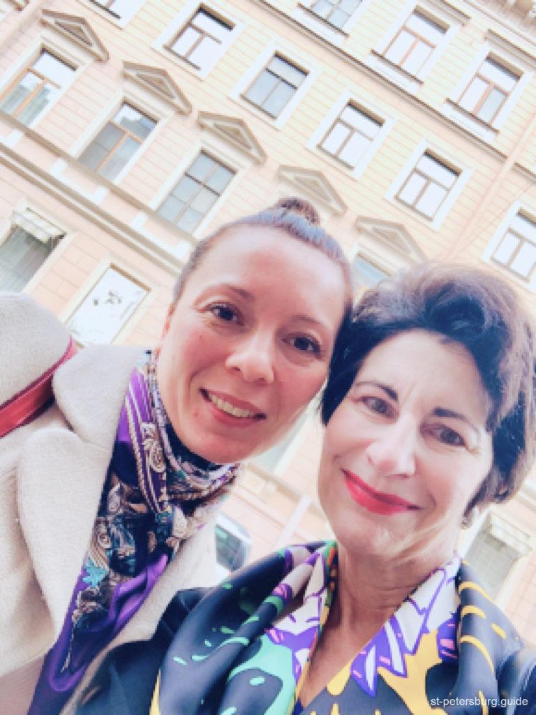 Gaplichnaya tour guide and happy travaler