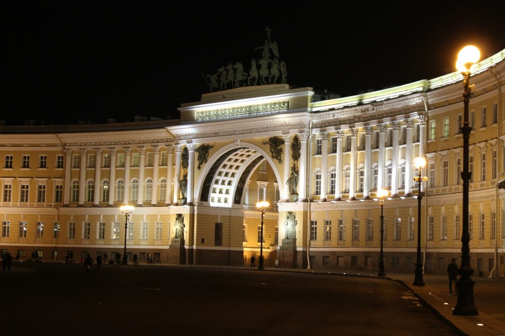 arch of the general staff building st petersburg