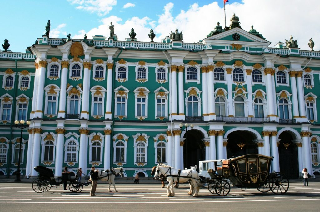 winter palace in st petersburg