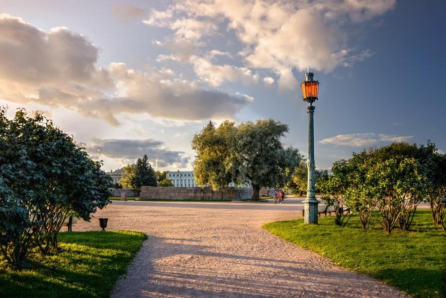 Field of Mars in St Petersburg Russia