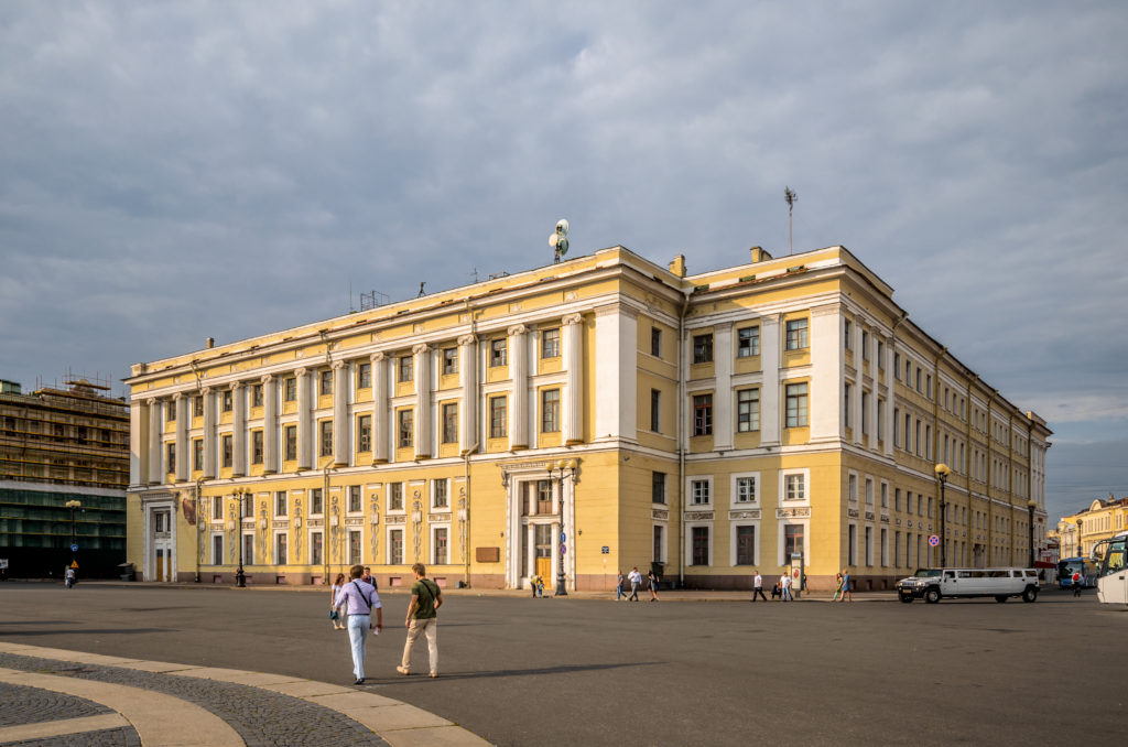 guards headquarters in st petersburg russia