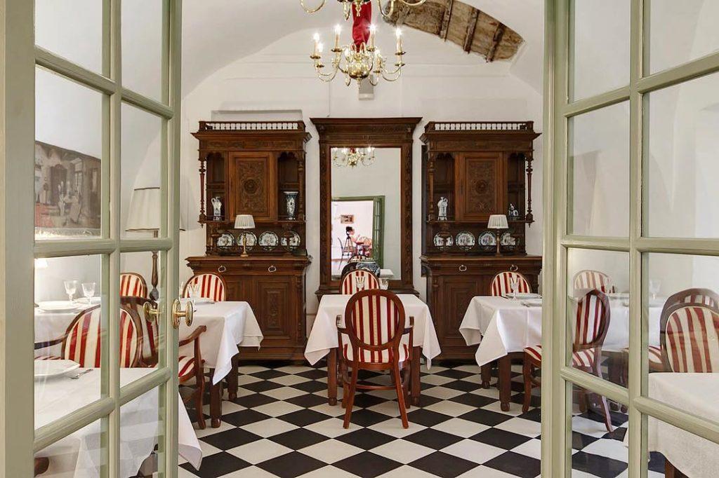 Mein Herz restaurant in St Petersburg Russia