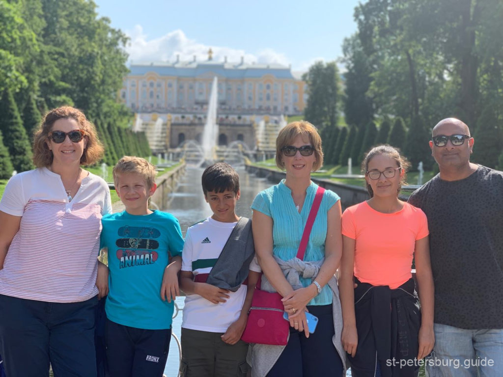 family private shore excursionst petersburg