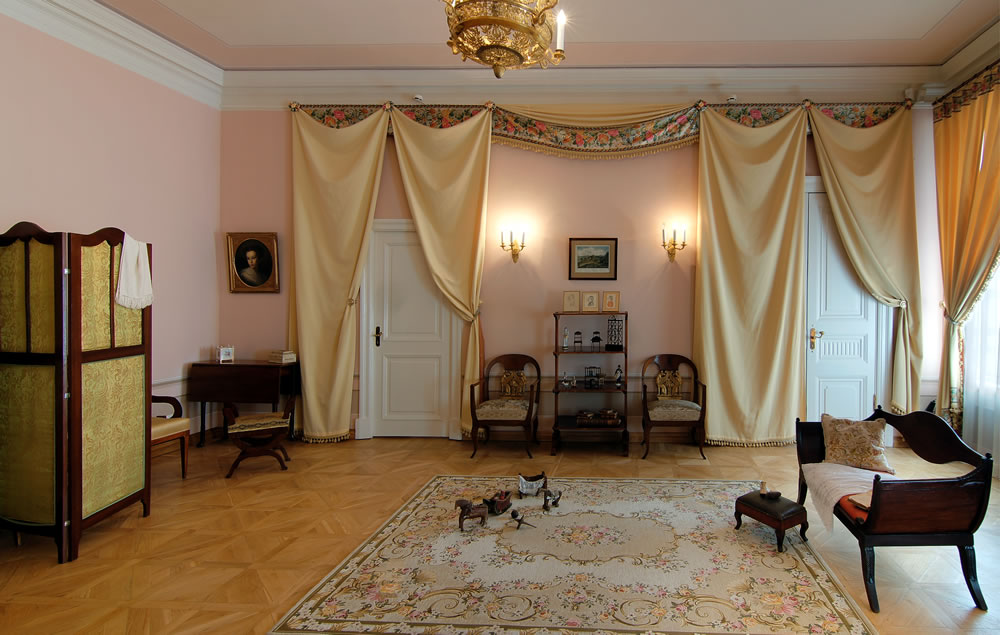 Kid's room in Pushkin museum and memorial apartment in St Petersburg