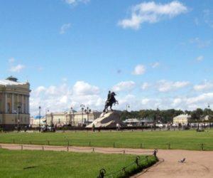 St Petersburg Senate Square