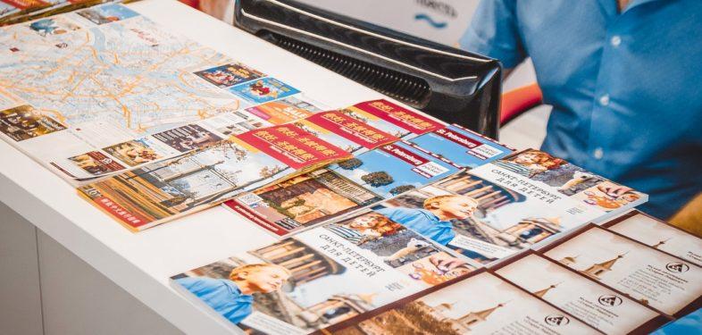 Info brochures. Saint Petersburg