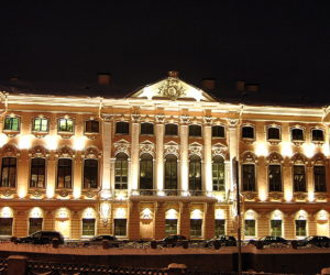 Stroganov Palace by night