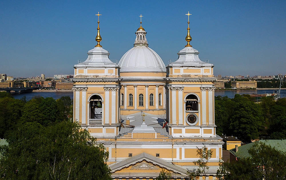 Alexander Nevsky Lavra in St Petersburg