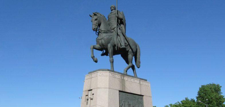 Alexander Nevsky Monument in St Petersburg
