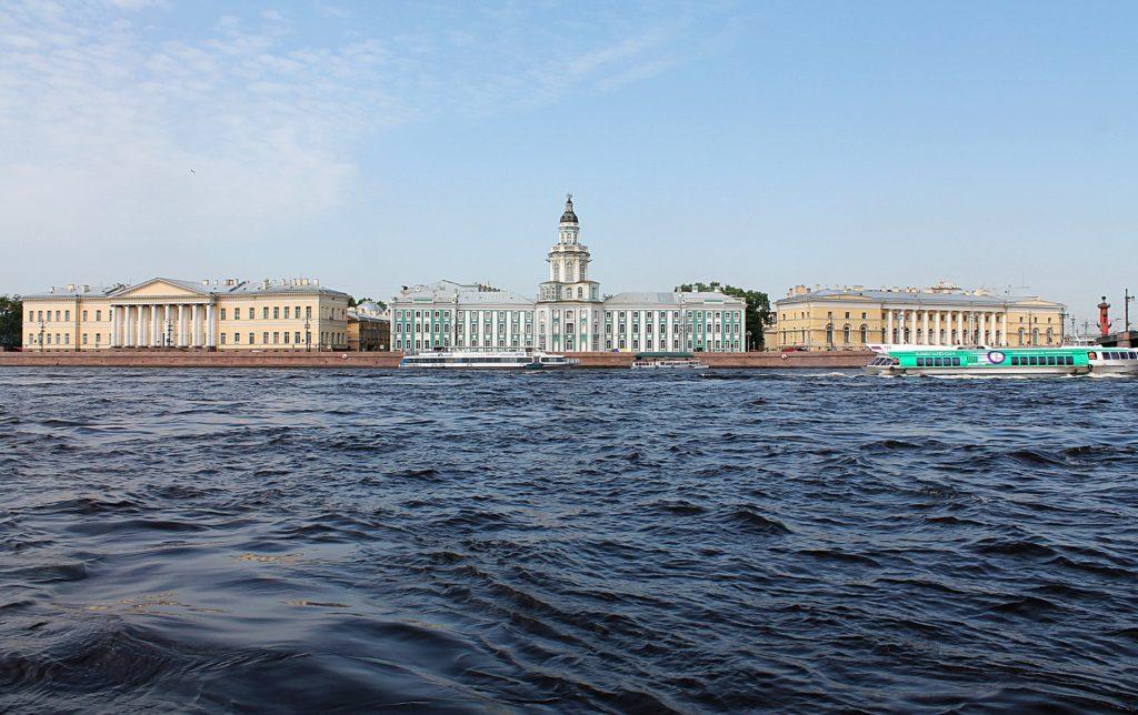 Kunstkamera on Vasilievsky island in St Petersburg