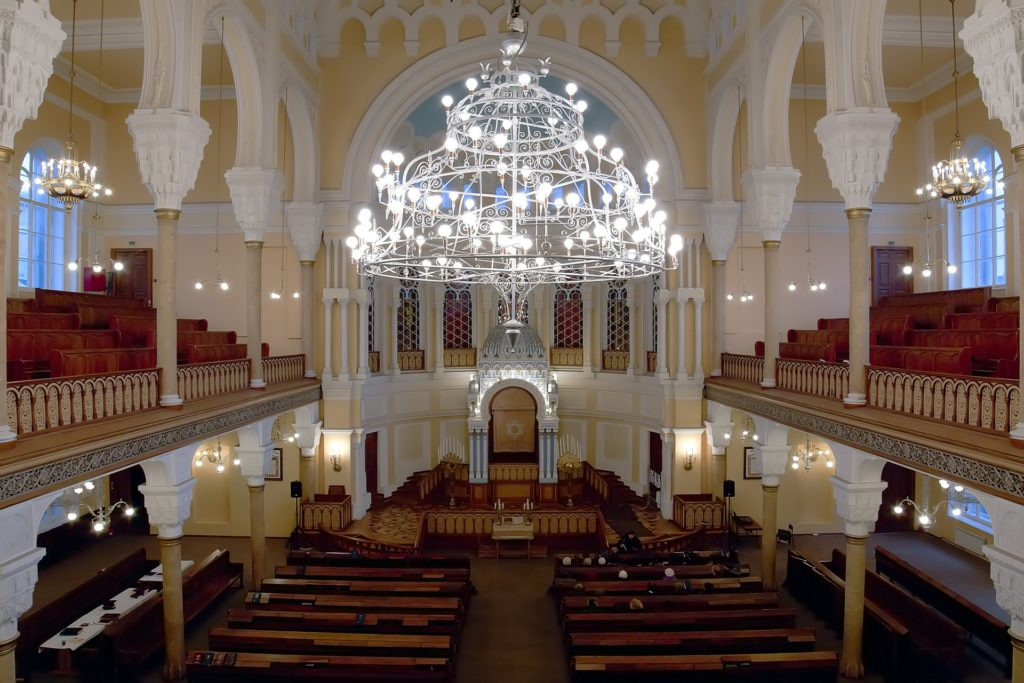 Interior of Grand Choral Synagogue