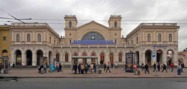 Baltic Railway Station in Saint Petersburg