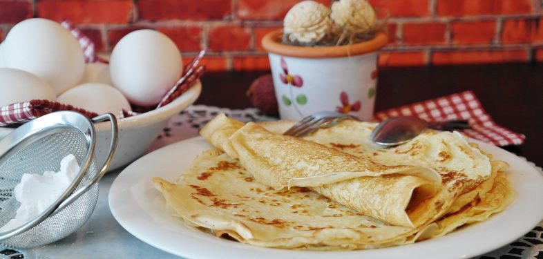 Try Russian food - pancakes